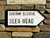 Slea Head Road sign