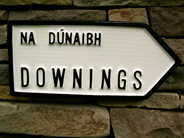 Irish Road Sign - Downings